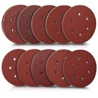 100x Klett Schleifpapier Exzenterschleifer 150mm 40-400 Körnung Schleifscheiben