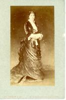 à identifier  Vintage albumen print.  Tirage albuminé  10x14  Circa 1880