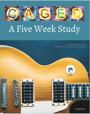 CAGED: A Five Week Study [Signed] Guitar Book Method - Learn the CAGED System