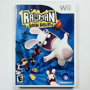 Rayman Raving Rabbids Nintendo Wii CIB Complete Tested Free Ship