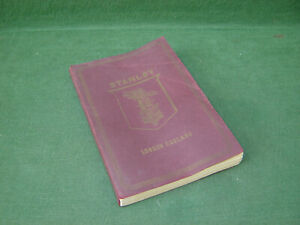 1900s W F Stanley & Co 32nd U Edition Trade Catalogue Surveying Maths Scientific