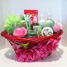 Gift Basket, Mother's Day Gift Basket, Spa Gift Basket