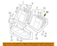 GM OEM Rear Seat-Latch Left 96593007