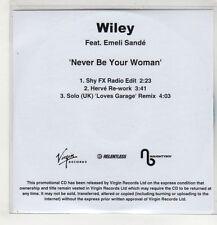 (GS936) Wiley ft Emeli Sande, Never Be Your Woman - DJ CD