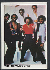 Panini 1980 Rock & Pop Collection - Sticker No 144 - The Commodores (S260)