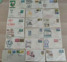 18 Ceylon Sri Lankan First Day Stamp Covers 1960s