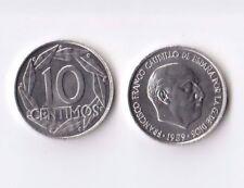 10 Céntimos de peseta año 1959 SIN CIRCULAR. 10 Cent 1959 SC Franco.