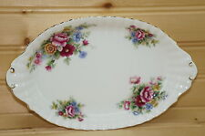"Royal Albert Chelsea Garden Oval Relish Tray (Butter Tray) 8 5/8"" x 5 1/4"""