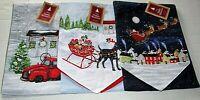 "CHRISTMAS TABLE RUNNER ASSORTMENT #2  13"" X 72"" {Your choice}"