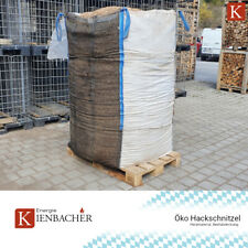🔱 100% Öko Holzhackschnitzel 2000l Big Bag 2m³ Hackschnitzel Beetabdeckung 🔱
