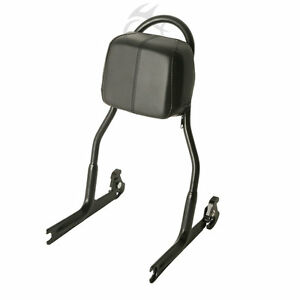 Detachable Sissy Bar Backrest Fit For Harley FXST FXSTB FXSTS 00-05 FLSTF 00-06