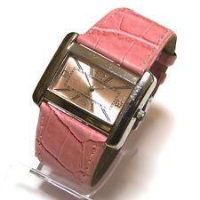 Pacific time señora reloj pulsera de color rosa reloj fantastico reloj señora de cuero Top