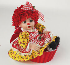 Cherry Rag-A-Muiffin 5 Inch Porcelain Doll by Charisma