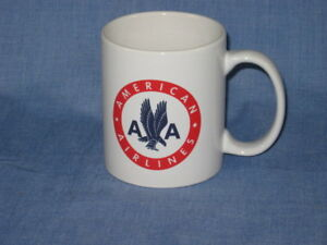 American Airline Coffee Cup Mug Airlines A&P  Jet Pilot Aircraft Airways Fleet