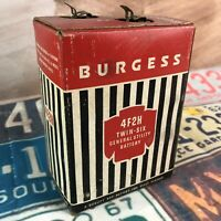 Vintage Burgess 4F2H Battery USA