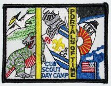 Suffolk Co Council (NY) 1995 Cub Day Camp Pocket Patch  BSA