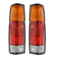 For Nissan Pick Up Truck 86-97 Rear Taillights Taillamps Left & Right Pair Set
