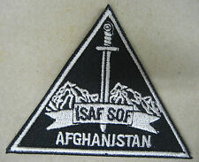 Toppa/Patch Nero dotazione S.O.F. TASK FORCE 45 - ISAF-AFGHANISTAN (Originale)