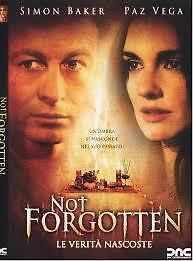 NOT FORGOTTEN DVD_REGION 1_Simon Baker / Paz Vega / THRILLER / Claire Forlani