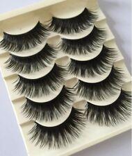 5 Prs WISPY False Eyelashes Set ST2 Thick Dramatic Volume UK Strip Lashes MakeUp
