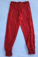Speedline Athletic Wear Men's Breakaway Snap Pants Warmup Red Size XL NWOT