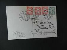 Post-card Amsterdam Holland - Vienna Austria 26th September 1911,  5 1/2cent.