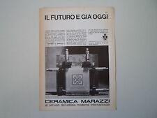 advertising Pubblicità 1967 CERAMICA MARAZZI