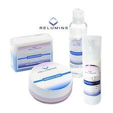 Relumins Advance White Facial Set MAX - Premium Day Cream, Toner, Soap, & Serum