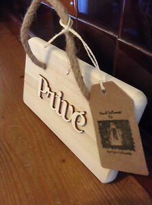 French Style Wooden Prive Hanger for Crafting .