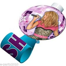 HANNAH MONTANA Rock the Stage BLOWOUTS (8) ~ Birthday Party Supplies Favors