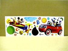 Disney Micky Maus & Donald , Wandaufkleber Wandsticker Wandtattoo Mickey Mouse