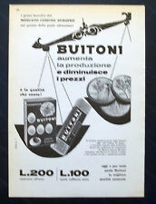 B889-Advertising Pubblicità-1959 - BUITONI PASTA