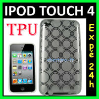 Accessoire Housse Coque Etui Silicone Gel TPU iPod Touch 4 4G Film