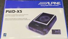 """Alpine PWD-X5 Advanced 8"""" Powered Subwoofer w. Built-In 5 Channel DSP Amplifier"""