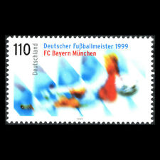 Germany 1999 - FC Bayern Munich - German Football Champion 1999 - Sc 2054 MNH