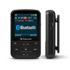 Oakcastle MP100 8GB Bluetooth MP3 Player/Portable Music Player with micro SD and