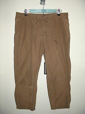 Columbia Women's Size M (35x23.5) Brown Capri/Cropped Pants 59-10225