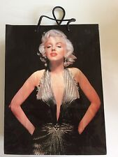 Marilyn Monroe Gift Bag Gold Golden Dress Sexy 1953 pose Only one on ebay