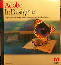 Adobe InDesign 1.5 (Retail) (1 User/s) - Full Version for Mac 17510224