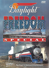 Daylight Freedom Special 4449 Railroad DVD New Pentrex