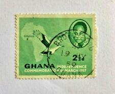 GHANA 1957 2-1/2p USED SCOTT # 2
