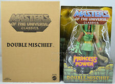 Masters of the Universe Classics DOUBLE MISCHIEF (DOUBLE TROUBLE) W/Mailer NEW