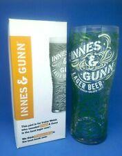 new innis & gunn scotland lager pub bar home beer pint glass man cave gift
