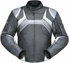 L Large Mens Dririder Speed 2 Hypersports Waist Length Jacket Black Anthracite