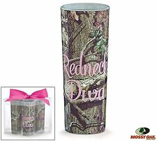 Mossy Oak Redneck Diva Set of 4 SHOT GLASS 2oz for Hunting Country Party Girls