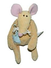 "Make Believe Ideas Brown Corduroy Mouse Plush Pocket Star 8"" 2007"