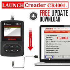 Automotive OBD2 Code Reader Check Engine LAUNCH CR4001 Auto Diagnostic Scan Tool