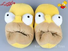 24bcd7b1989c New Novelty Homer Simpson Slippers Yellow Adult Funny Plush Big Mouth Shoes