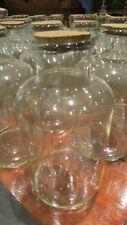 ancien gros bocal pharmacie ou a bonbons en verre soufflé epoque XIXe