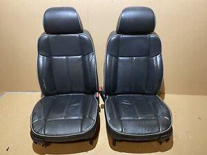 2006-2010 HUMMER H3 Front & Rear Seat Set Black Leather OEM 2008